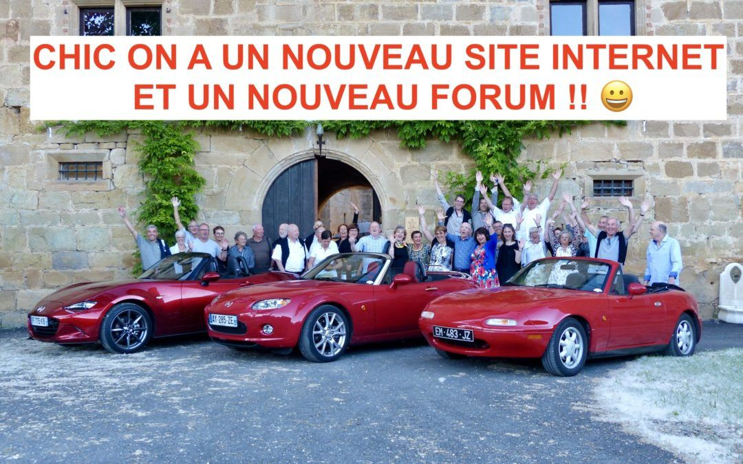 Nouveau Site et nouveau Forum pour MX-5 Passion!